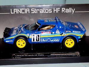 Lancia Stratos HF Rally B.Darniche #10 1981 1st Tour de Corse SUN STAR 4514 1/18
