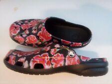 Womens floral crocs size 7