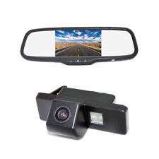 Reverse Camera &Mirror Monitor for Nissan Pathfinder Citroen C4 C5 Peugeot 307CC