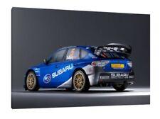Solberg Subaru Impreza WRC Prodrive 30x20 Inch Canvas - WRC Rally Framed Picture