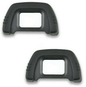 2pcs Eyecup Eyepiece for Nikon D7200 D7100 D7000 D5100 D3000 D750 D610 D600 DSLR