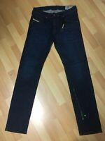 NWD Mens Diesel BELTHER STRETCH DENIM R13M8 DARK BLUE SLIM W31 L32 H6 RR0£160