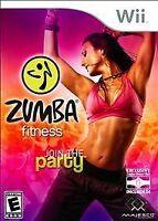 Zumba Fitness  (Nintendo Wii, 2010) WITH BELT
