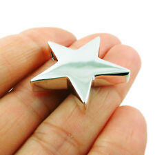 Sterling 925 Silver Hand-wrought Three Dimensional Celestial Star Pendant