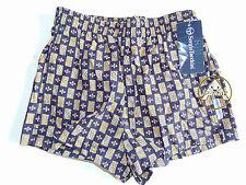 Vintage 90 TACCHINI Boxer 11 12 Anni 44 Shorts Costume Beach Bambino Kid Blu 80