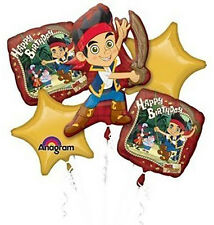 Jake and The Neverland Pirates Mylar Balloons Bouquet Birthday Party Decorations