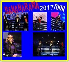 BANANARAMA 2017 TOUR  + 1800 PHOTO CD CONCERT SET 1+2+3 LIVE NOT SIGNED