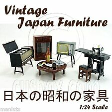 Vintage Asian Japanese Japan Antique Retro 1:25 Doll's House Dollhouse Furniture