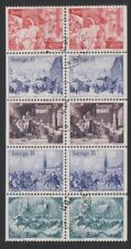 Sweden - 1971, Xmas (Traditional Prints) Booklet Pane - F/U - SG 664a