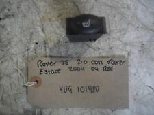 Rover 75 Tourer 2.0 CDTi 5dr 04 reg (MG ZTT) Heated Seat Switch YUG101980