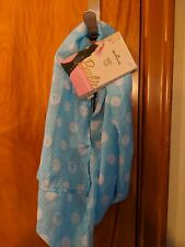 Barbie Doll Infinity Scarf by Hallmark.  New with Tags.  Blue and White.