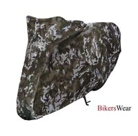 Oxford Aquatex Camo Bike Cover Size L - CV213