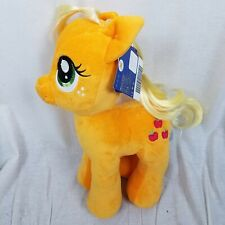 BUILD A BEAR MLP My Little Pony Applejack Stuffed Horse BABW BAB NWT FUll Size