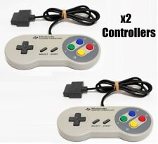 Super Famicom Controller x2 Official Nintendo Fully working works for SNES