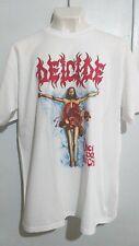 Deicide once upon cross T shirt death metal morbid angel cannibal corpse