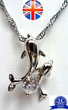 Dolphin Pendant Necklace - 925 Sterling Silver High Quality Anti-allergic Gift