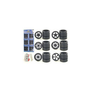 Wheels and Tires and Rims Multipack Set of 24 pieces for 1/24 Scale Model Car...