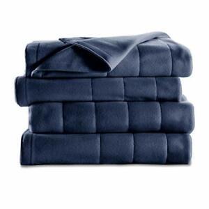 Sunbeam Quilted Fleece Blanket with EasySet Pro Controller, Complete