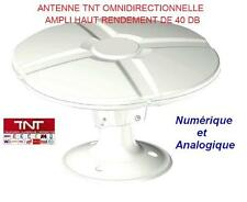 Antenne TNT + TNTHD camping car , caravane omnidirectionnelle 40DB PIED/MAT