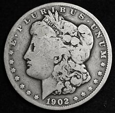 1902 Morgan Silver Dollar.  V.G.  105639