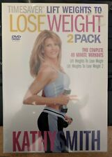 New Kathy Smith Timesaver_Lift Weights to Lose Weight_2 Pack DVDs_Vols. 1 & 2