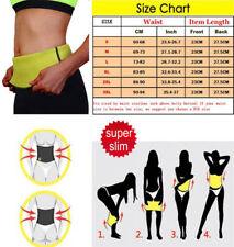 Neoprene Shaper Sauna Belt Women Men Waist Trainer Belt Workout Cincher Girdle #