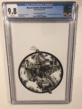 Marvel Zombies Resurrection #1 CGC 9.8 Unknown Virgin Sketch Suayan Wolverine