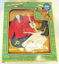 """Vtg 70s Pedigree 10.5"""" Doll Anna Moore """"SHOW JUMPER"""" Outfit for PETER #22314 MIB"""