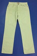 Jeckerson jeans uomo AA001U w42 tg 56 slim verde acqua usato boyfriend T2926