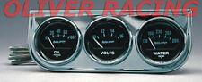 ZUSATZINSTRUMENTE US-Car 52mm Oldsmobile Ford Pontiac GM Öldruck/Volt/Temperatur