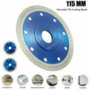 Diamond Disc 115mm Porcelain Tile Cutting Disk Angle Grinder Saw Cutter Blade UK