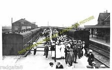 Mablethorpe Railway Station Photo. Theddlethorpe - Sutton-on-Sea. Louth Line (1)