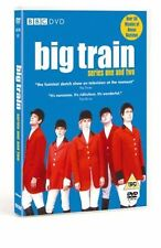 BIG TRAIN - Series 1 & 2 : Complete Collection 1-2 Amelia Bullmore New UK R2 DVD