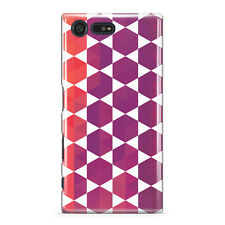 DYEFOR GEOMETRIC COLOURFUL DESIGN 15 PHONE CASE COVER FOR SONY XPERIA