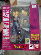 Bandai dragon ball figuarts gohan ss2 super saiyan 2 sdcc 2012 figure original