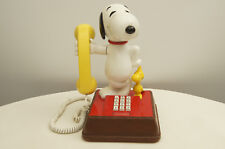 Vintage The Snoopy And Woodstock Phone Model UBM 8010
