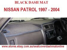 DASH MAT, BLACK DASHMAT,FIT NISSAN PATROL GU 1997-2004 , BLACK