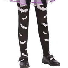 COLLANT BAMBINA CON PIPISTRELLI  ACCESSORIO COSTUME HALLOWEEN