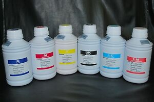 Eco Solvent ink for Roland, Mimaki, Mutoh 6 x 500ml  US Fast shipping