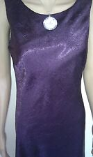 MONSOON Maxi Dress. Purple. Evening Cocktail Party. Stunning.  SIZE 12