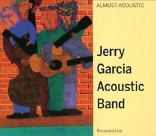 Almost Acoustic Jerry Garcia Band CD 1988 Recorded Live 1987 GDCD4005 FAST SHIP