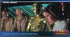 Star Wars Widevision un nouvel espoir PROMOTIONNEL CARTE swp6
