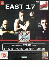 PUBLICITE ADVERTISING   1995   NRJ  radio  EAST 17