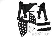 For Honda CBR1000RR 2004 2005 2006 2007  Black Front Rider Foot Pegs Bracket