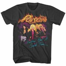 Poison Good Times Smoke Adult T-Shirt
