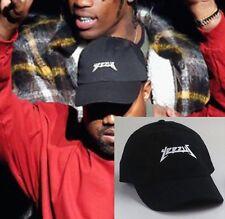 Yeezus Hat Cap Unstructured Cap Yeezy Tour Kanye West Cap Black NEW