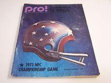Dallas Cowboys Original Vintage NFL Programs