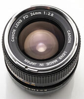 Canon FD 24mm 24 mm 1:2.8 2.8 - A-1 AT-1 T70 AE-1 F-1