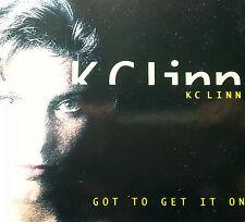 KC LINN 3 TRACK CD GOT TO GET IT ON FREE POST AUSTRALIA