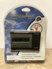 New La Crosse Technology Projection Alarm Clock Atomic Precision